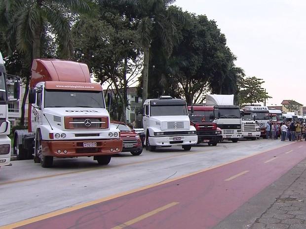 Caminhoneiros de Cubatão fazem Romaria até o Santuário de Aparecida