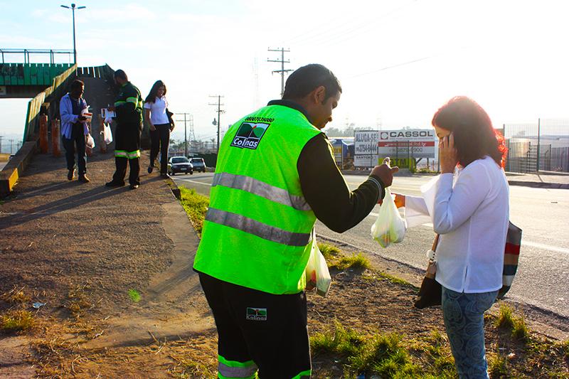 AB Colinas realiza campanha para pedestre em Boituva