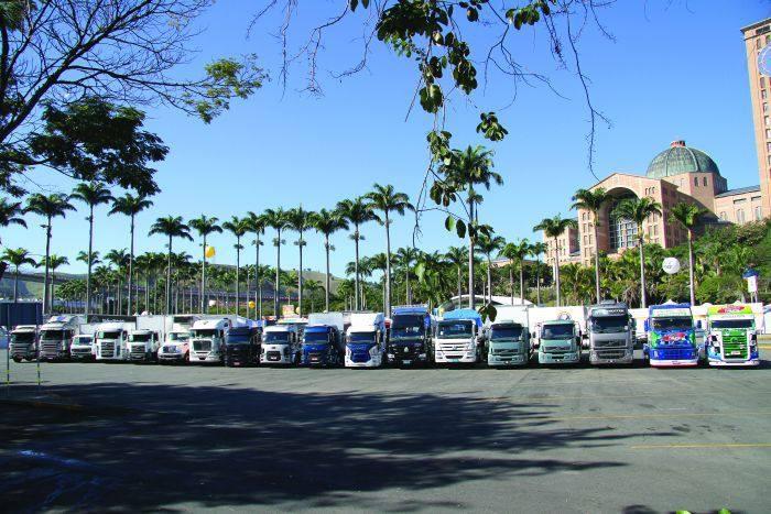 Motoristas testam os caminhões mais modernos do Brasil