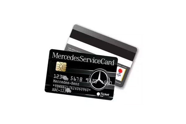 Mercedes benz e ticket lan am cart o para frotista chico for Mercedes benz tickets