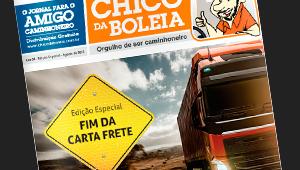 Jornal Chico da Boleia – Edição Especial | Fim da Carta Frete