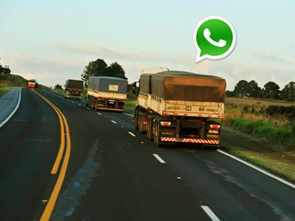 Grupo no WhatsApp divulgará ocorrências de roubo de cargas