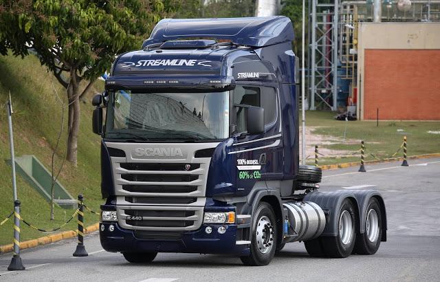 Scania se destaca na oferta de combustíveis alternativos