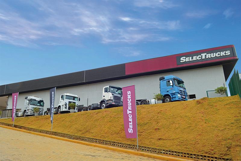 SelecTrucks da Mercedes-Benz apresenta soluções para quem deseja caminhões novos e seminovos