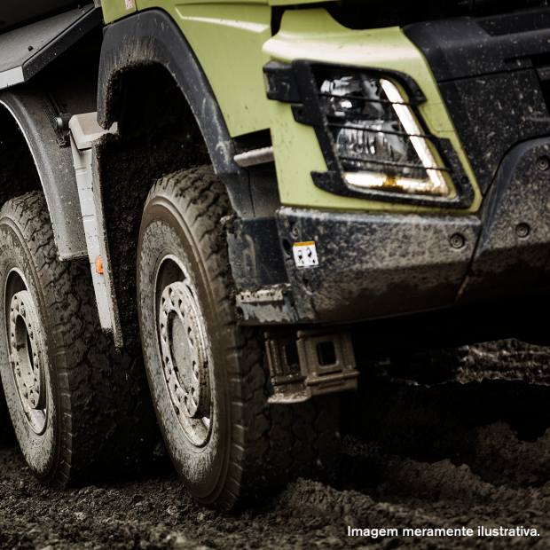 Cuidado com os pneus antes de iniciar o frete