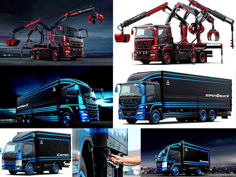 Fuso leva conceitos ao Tokyo Motor Show 2015
