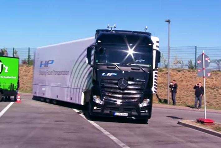 Caminhões autônomos estão cada vez mais próximos da realidade