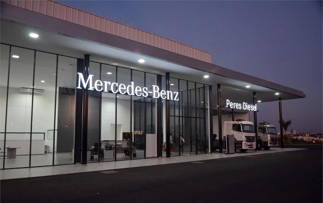 Concessionário Mercedes-Benz de veículos comerciais adota nova identidade visual