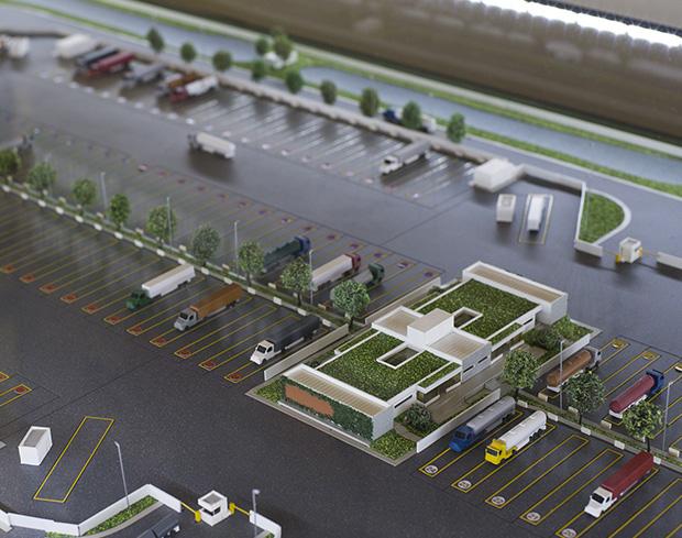 ANTT apresenta projeto-piloto de ponto de parada e descanso para caminhoneiros