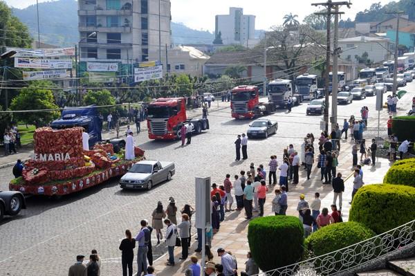 Agora é oficial: São Marcos é declarada Capital dos Caminhoneiros