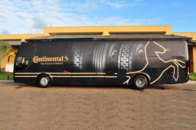 Continental Pneus apresenta a linha ContiHybrid na Fenatran 2015