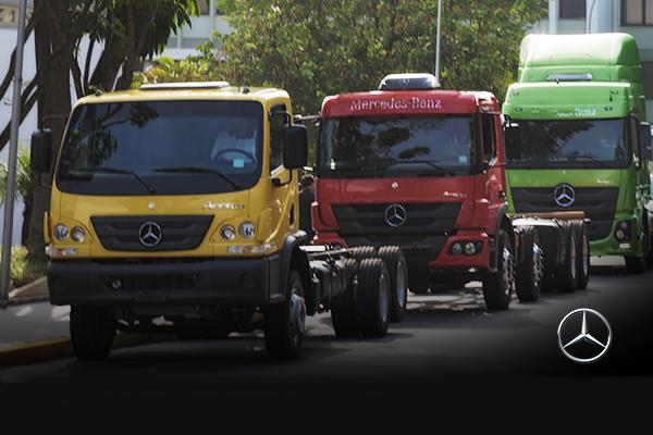 Novos executivos no setor de caminhões da Mercedes-Benz