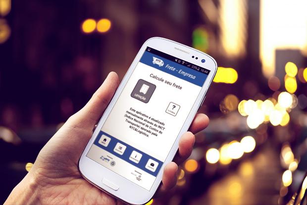 NTC lança aplicativo que calcula o valor do frete