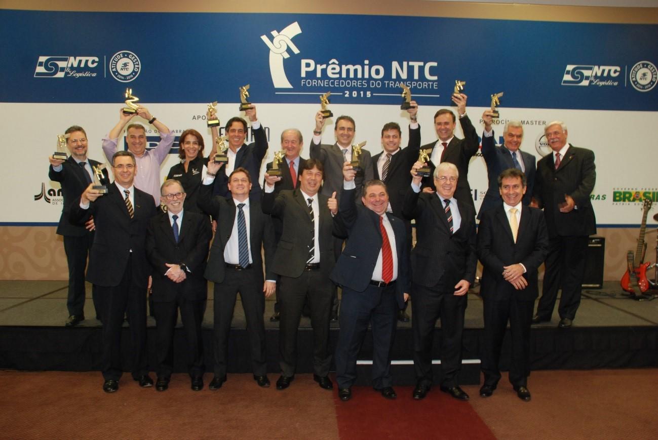 NTC&Logística realiza entrega do Prêmio NTC Fornecedores do Transporte na FENATRAN