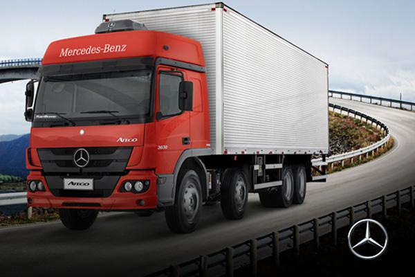 Nova linha de caminhões Atego Novidades na linha de caminhões Atego