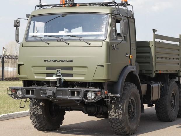 Rússia desenvolve caminhão sem motorista para andar até na neve