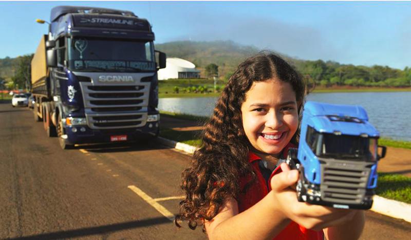 Pequena grande paixão Scania