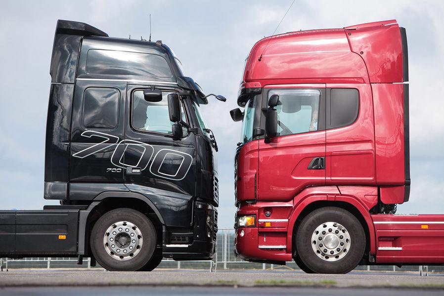 Golias vs. Golias: Volvo e Scania travam duelo