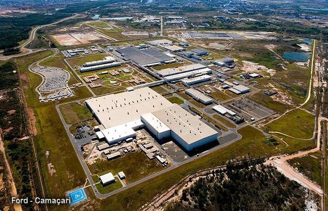 Montadora Ford anuncia férias coletivas para fábricas de Camaçari