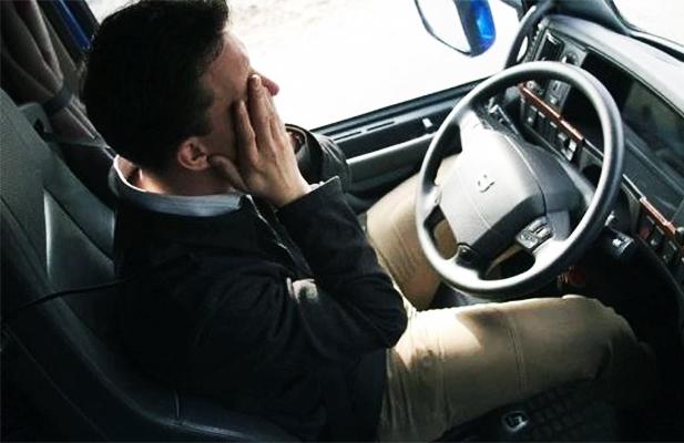 dormir no volante