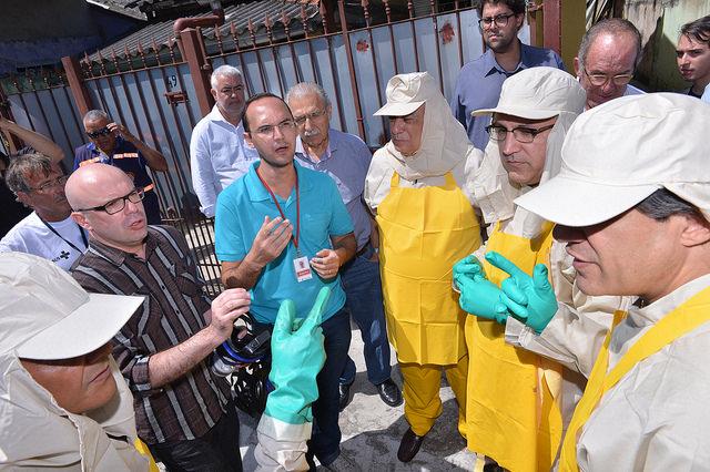 Dia Nacional de Combate ao Aedes Aegypti tem participação do ministro dos Transportes