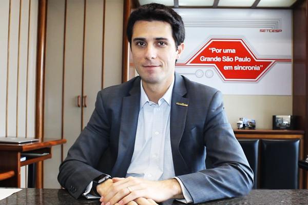 """""""Melhorar a cadeia logística, é melhorar a economia brasileira"""" diz Tayguara Helou, novo Presidente do Setcesp"""