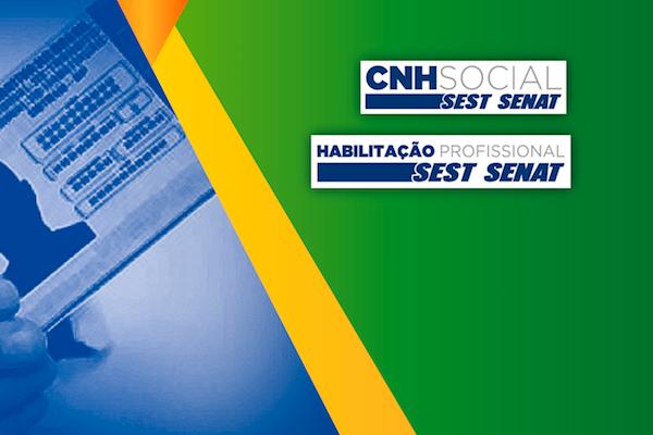 SEST SENAT abre inscrições para o projeto CNH social de emissão gratuita e mudança de categoria para motoristas