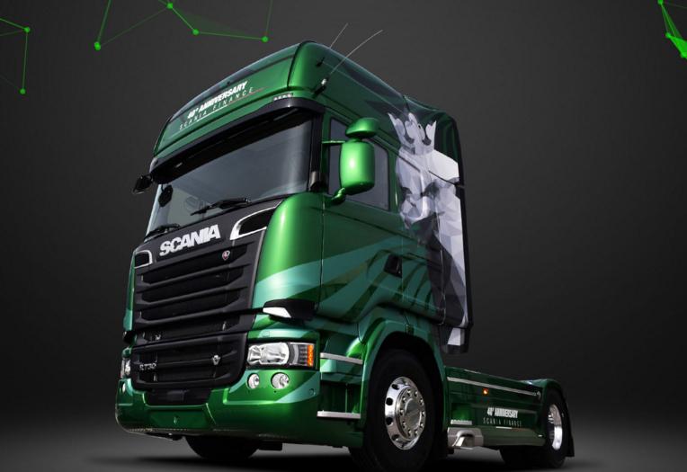 Scania lança série especial a Esmeralda na Itália