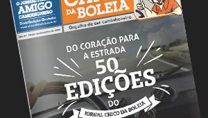50ª Edição Comemorativa – Jornal Chico da Boleia