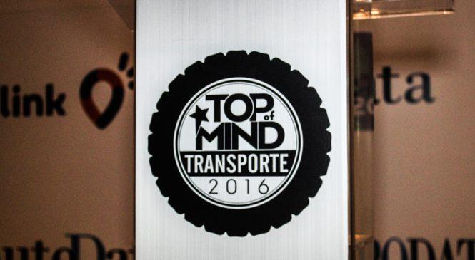 Prêmio Top of Mind de Transporte revela os preferidos dos caminhoneiros