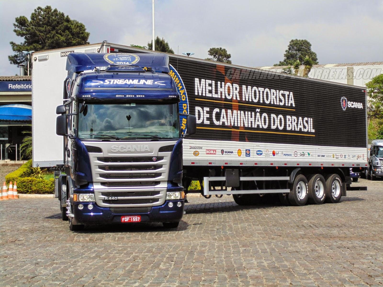 Scania realiza sexta edição da competição de Melhor  Motorista de Caminhão do Brasil este ano