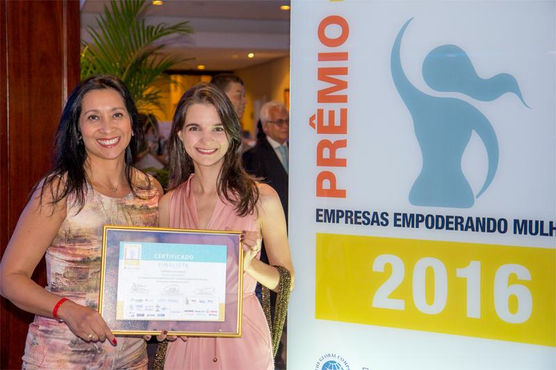 Cummins conquista Prêmio WEPs Brasil 2016