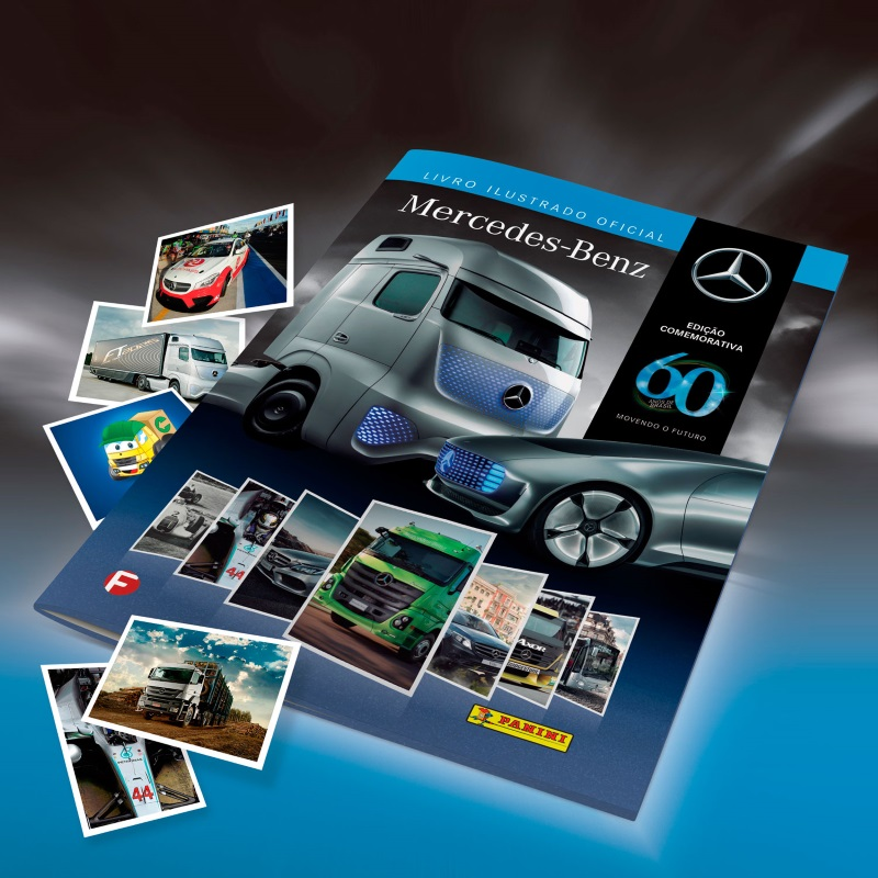 Mercedes-Benz lança álbum ilustrado para contar os 60 anos da empresa