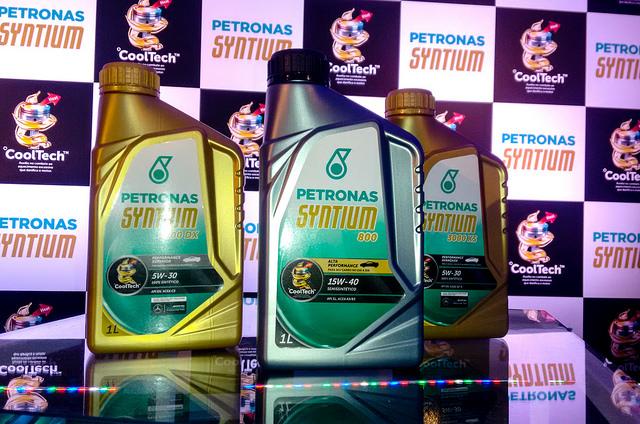 PETRONAS lança Syntium com tecnologia °CoolTech™ em evento no Autódromo de Interlagos