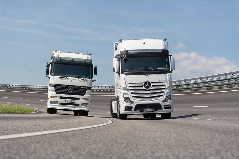 Mercedes-Benz Trucks comemora os 20 anos do Actros  com o lançamento de uma série especial no IAA