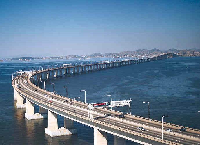 ANTT estabelece restrição à circulação de veículos na Ponte Rio-Niterói durante a Rio 2016
