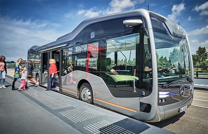 Avant-première mundial – Daimler Buses apresenta ônibus urbano de condução autônoma do futuro