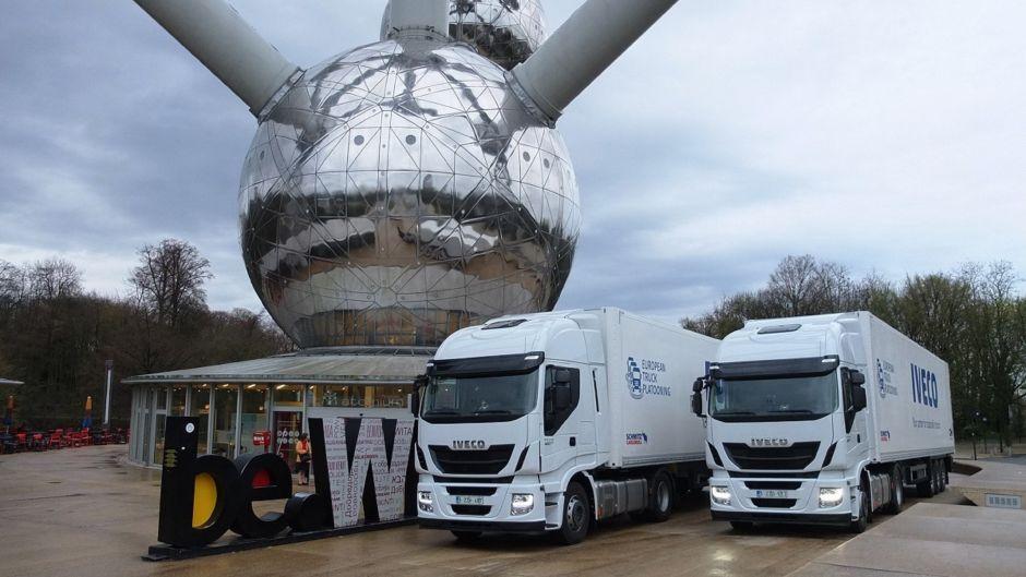 Desafio Europeu de Caminhões tem apresentação de Stralis autônomos