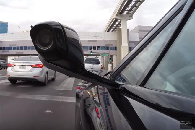 Japão libera venda de carros sem retrovisores