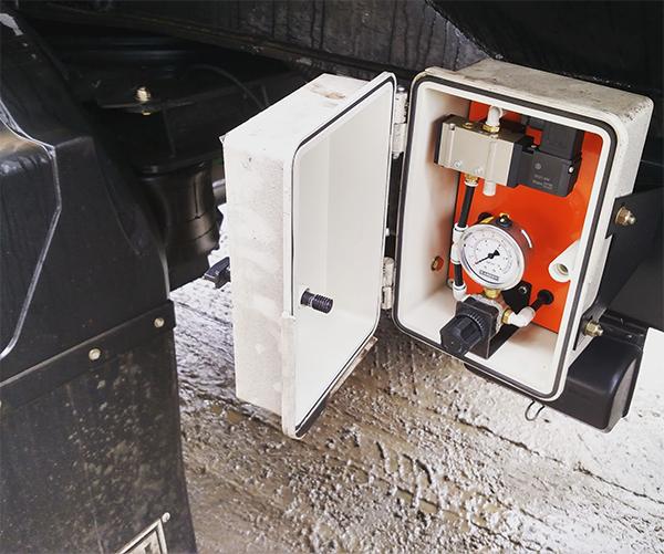 Regulador de pressão da suspensão da carreta vanderléia