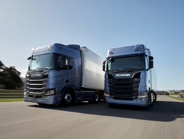 Scania apresenta nova geração de caminhões