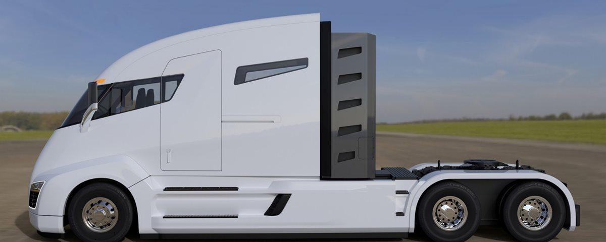 """""""Tesla dos caminhões"""" quer inovar e, para isso, aposta no hidrogênio"""