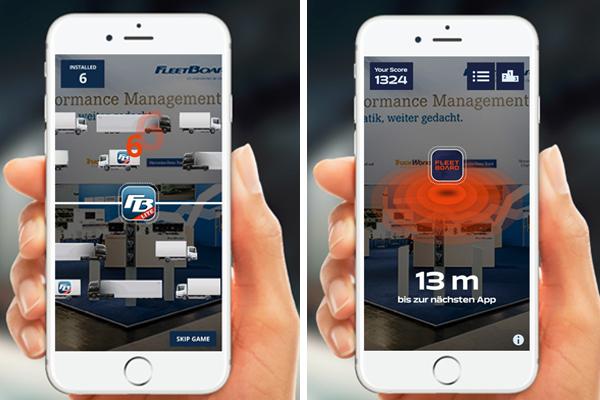 "Daimler FleetBoard lança jogo interativo ""App your Truck"" no IAA 2016"