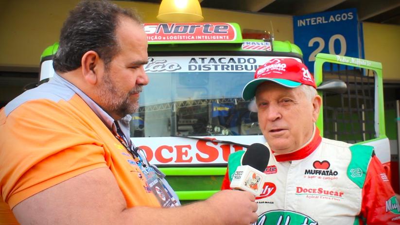 Vídeo – Fórmula Truck – Pedro Muffato se despede de interlagos
