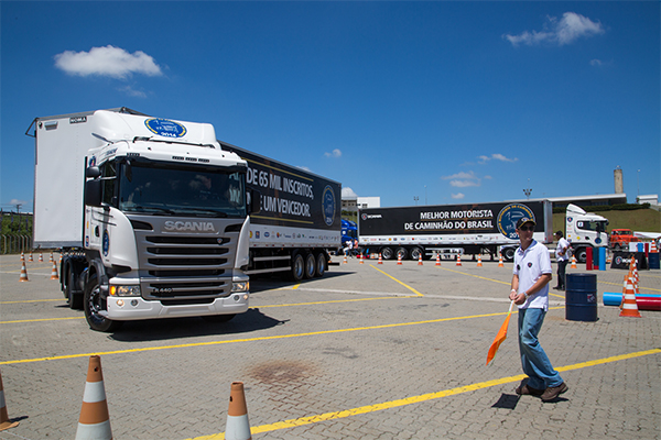 Scania Driver Competitions recebe mais de 40 mil inscrições