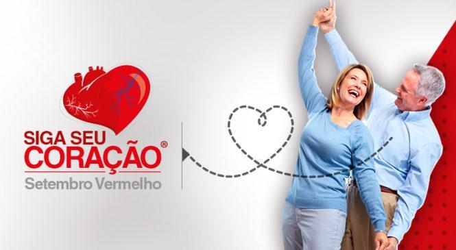 Campanha Siga seu Coração alerta para problemas cardiovasculares