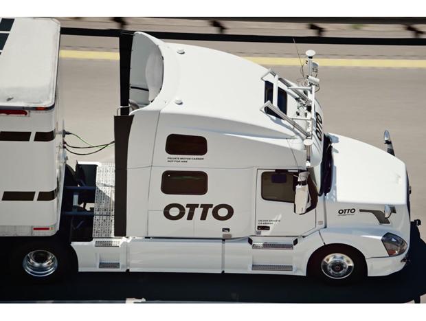 Caminhão autônomo da Uber quer o setor logístico