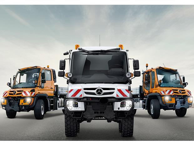 Mercedes-Benz amplia linha Unimog com U323