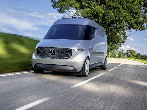 Vision Van: utilitário futurístico da Mercedes-Benz