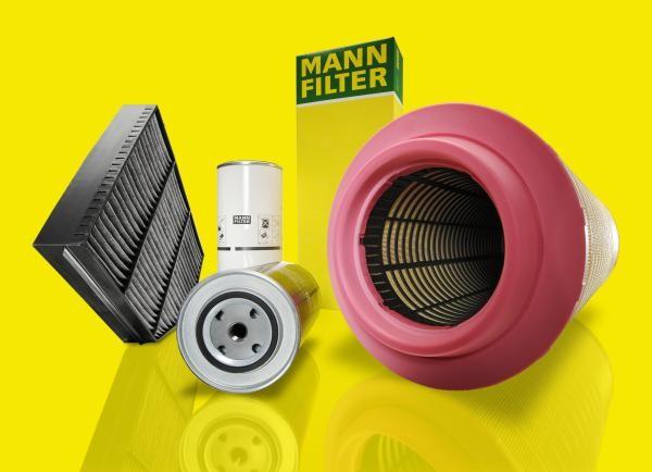 Mann-Filter lança novos filtros para linha pesada